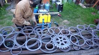 Sculpture Rotary MakingOf