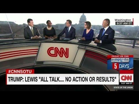 Nina Turner: Trump tweets on John Lewis 'insensitive...