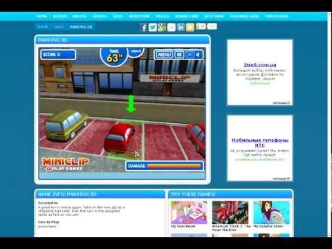 Парковка бензовоза Детская онлайн игра (Прохождение)
