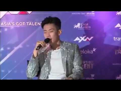 Jay Park 박재범 at Asia's Got Talent PressCon in Singapore