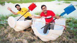 Making 2 Passenger Boat Using Water Tank  Will It Swim?