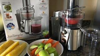 OSTER juicer - making basic juices - detox and energy boost
