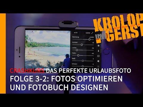"""Crashkurs """"Das perfekte Urlaubsfoto"""" 🌴 Zusatzfolge 03-2 🌴 Fotos optimieren / Fotobuch designen 📷 K&G"""