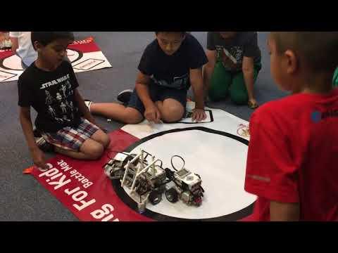 EV3 robotics summer camp 2