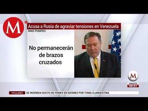 EU no se quedará 'de brazos cruzados' ante actitud rusa en Venezuela