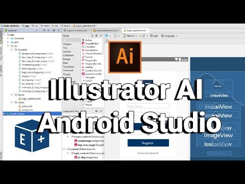 Convert Illustrator CC To Android Studio [Adobe Plugin]