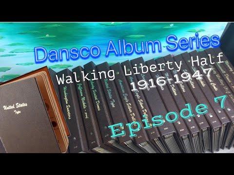 Walking Liberty Half Dollar Dansco Album Collection Tour Episode 7