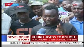 We the people of Kisumu are supporting President Uhuru in the war against graft: Kisumu residents