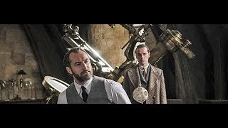 Fantastic Beasts images feature Johnny Depp and Jude Law
