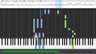 Zelda Ocarina of Time - Song of Storms [Synthesia piano tutorial midi]