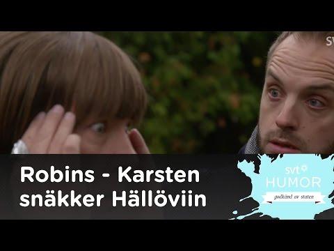 Karsten Torebjer gästar Robins för tala med andar under Halloween