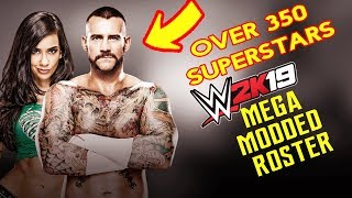 Download Wwe 2k19 Full Roster 200 Superstars Raw Sdlive Nxt
