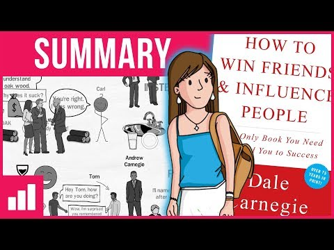 How To Win Friends And Influence People By Dale Carnegie Animated Book Summary