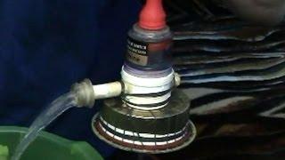Клапан с пневматическим управлением своими руками(Как сделать силиконовую прокладку. https://www.youtube.com/watch?v=QY7c8_LA-4I Музыка icebearger3