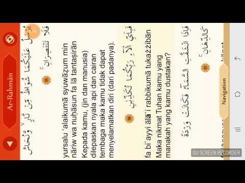 Download Lagu Ar rahman muhammad thoha latin plus arab