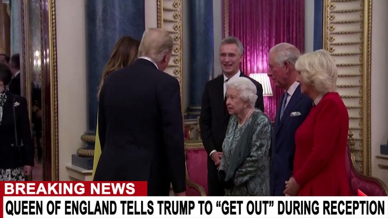 BREAKING: QUEEN TELLS TRUMP TO