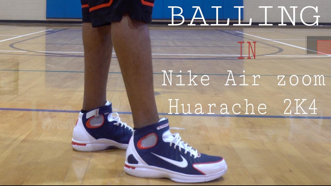 watch e6de0 8a89c Balling in the Nike Air Zoom Huarache 2k4