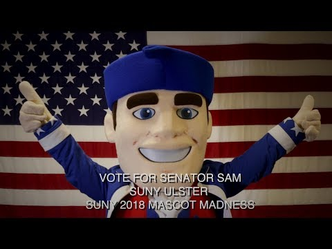 Mascot Madness 2018 - SUNY Ulster - Senator Sam
