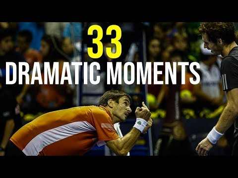 33 Ways To Finish A Tennis Match IN STYLE (Most Dramatic Moments)