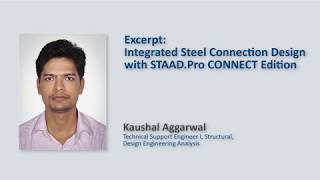 Integrated Steel Connection Design With STAAD.Pro CONNECT Edition
