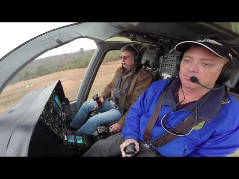 First Time Flying a Helicopter