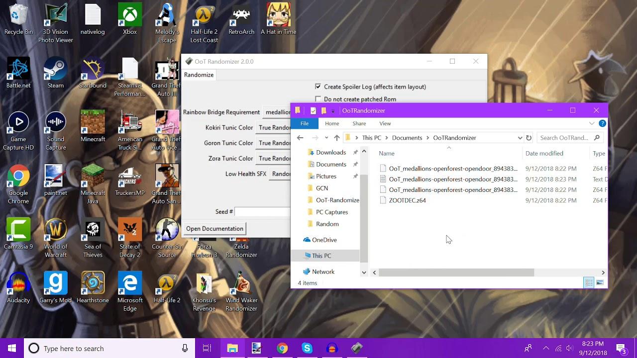 OoT Randomizer Setup, 2 0 and 2 17 5 + Emulator