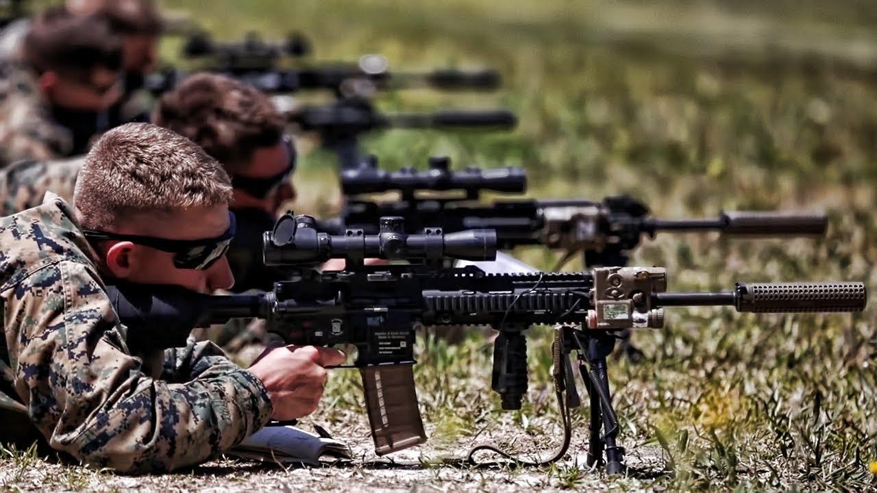 Resultado de imagem para designated Marksman Rifle