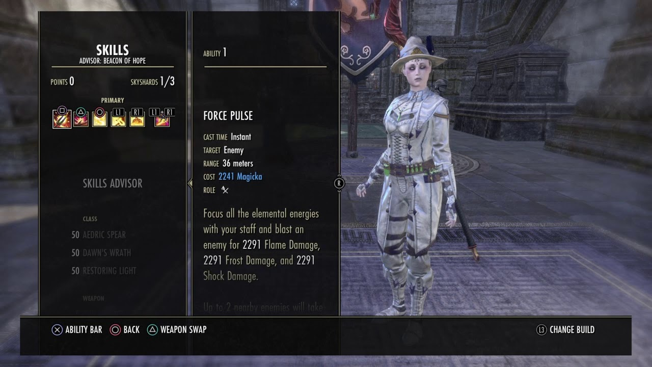 Eso Magplar pvp build wolfhunter/ Murkmire (With Gameplay)