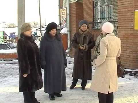 Кузнецк, декабрь 2007, Дорога по ул.Хвалынская