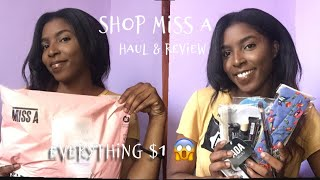 Shop Miss A Haul & Review (Everything $1) | Shenzello