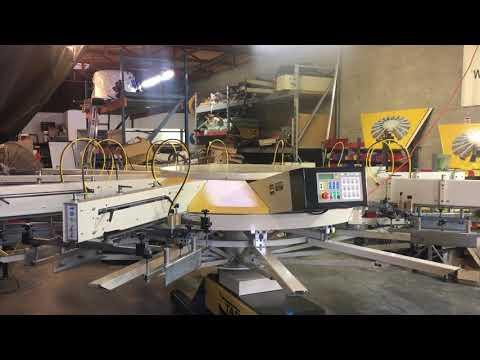 TAS AMERICA screen printing machine