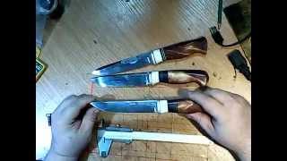 три ножа из дизельного клапана тепловоза