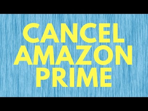 How To Cancel Amazon Prime Trial