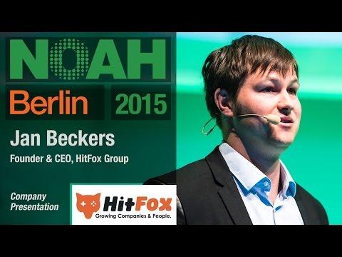Jan Beckers, HitFox Group - NOAH15 Berlin