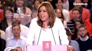 Susana Díaz anuncia su candidatura a las primarias del PSOE