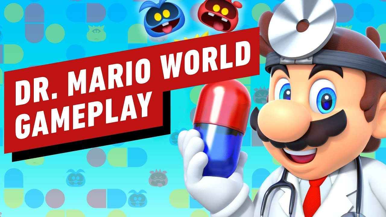 14 Minuten von Dr. Mario World iPhone Gameplay + video