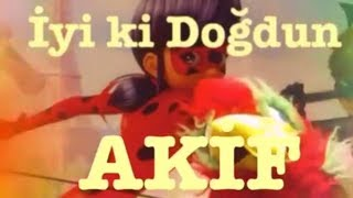 İyi ki Doğdun AKİF :)  Komik Doğum günü Mesajı 1. VERSİYON ,DOĞUMGÜNÜ VİDEOSU Made in Turkey :) 🎂