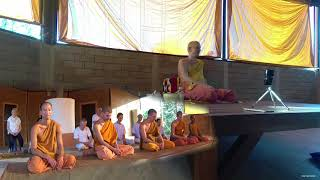 """""""Get out of the treadmill of daily life"""" Dhammatalk by Ajahn Martin (24/01/18)"""