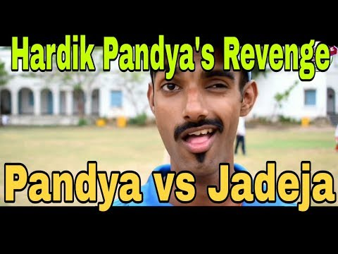 hardik pandya's revenge | hardik pandya vs jadeja | india | Tafrizaade