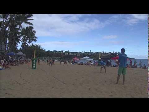 Hawaii Dinosaur Volleyball Men S Finals 2017 Kala Beach Kauai