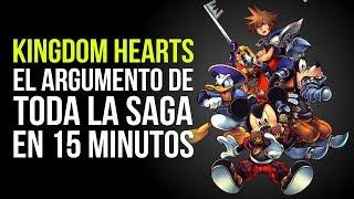 KINGDOM HEARTS, el argumento de TODA LA SAGA en 15 MINUTOS