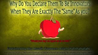 "Why Do You Declare Them To Be Innovators When They Are Exactly The ""Same"" As You?"