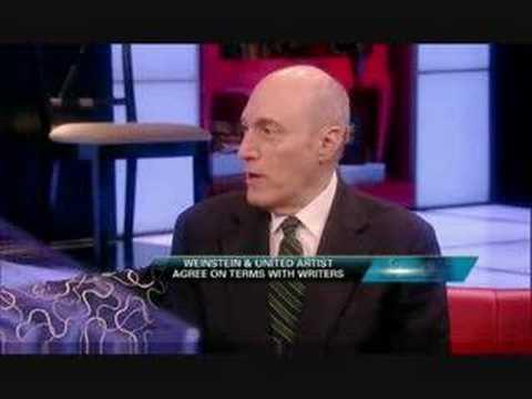 Hal Vogel on Fox Business Writers Guild Strike