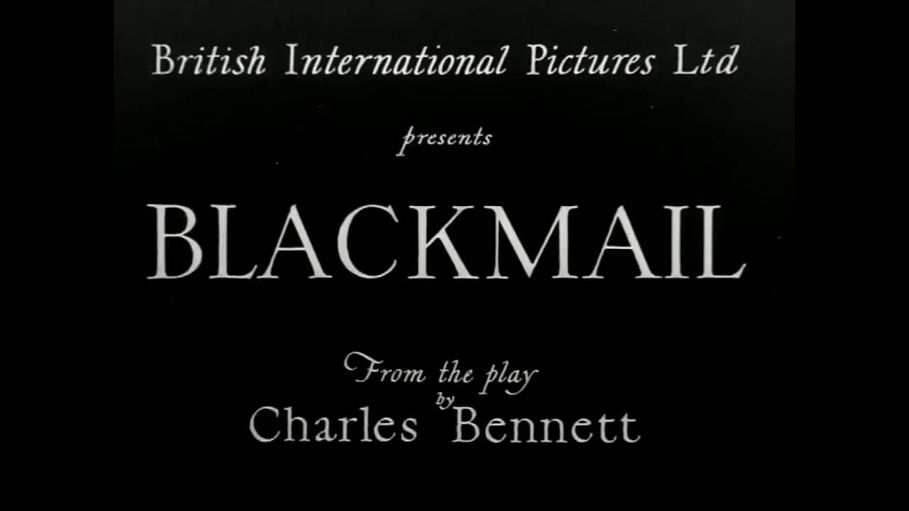 Alfred Hitchcock's BLACKMAIL at Cinema Arts Centre on June 21, 2016