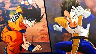 NEW Dragon Ball Z: Kakarot Saiyan Showdown! DBZ Kakarot Goku Vs Vegeta HD Gameplay Screenshots