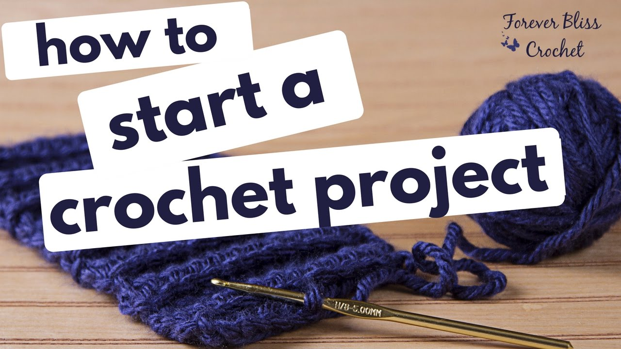 how to start crochet without a chain