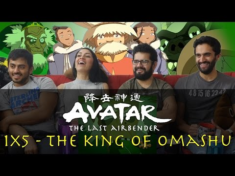 Avatar: The Last Airbender - 1x5 The King of Omashu - Group Reaction