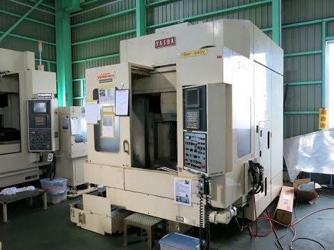 25032 立型マシニングセンター(BT40型)  安田工業 YBM640V 1997年