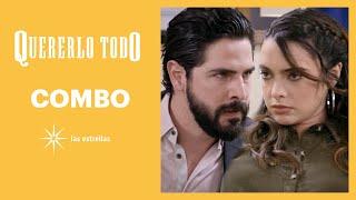 Quererlo todo: ¡Sandy le informa a Uriel que Leonel tiene herpes! | C-110 | Las Estrellas