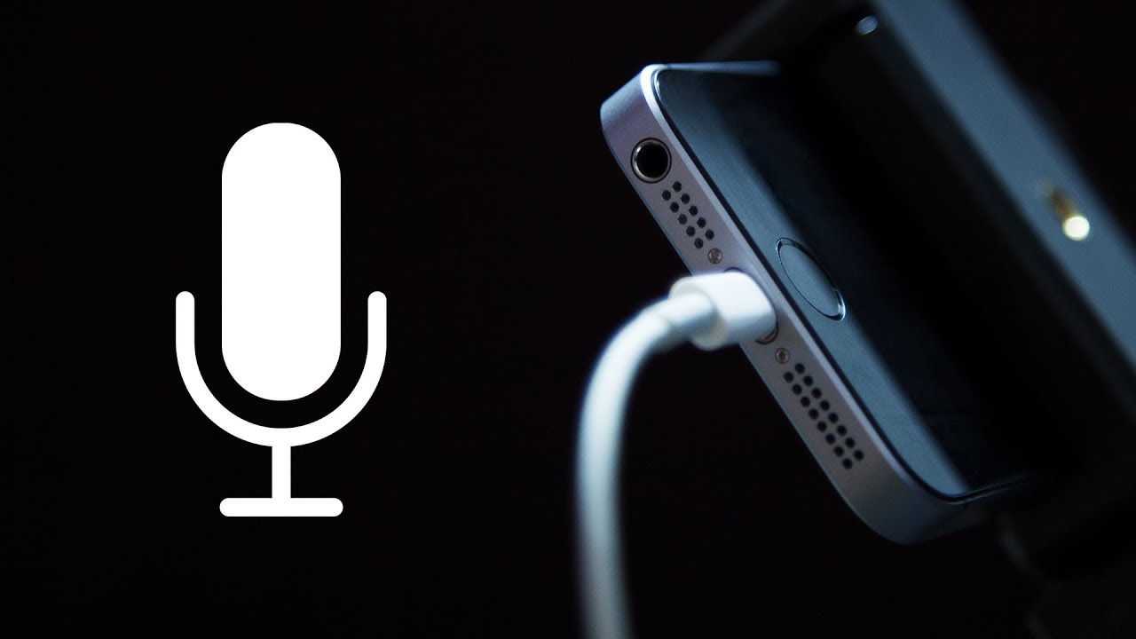 How To Use Your Iphone As A Microphone On Your Mac Or Pc For Recording Your Voice Youtube